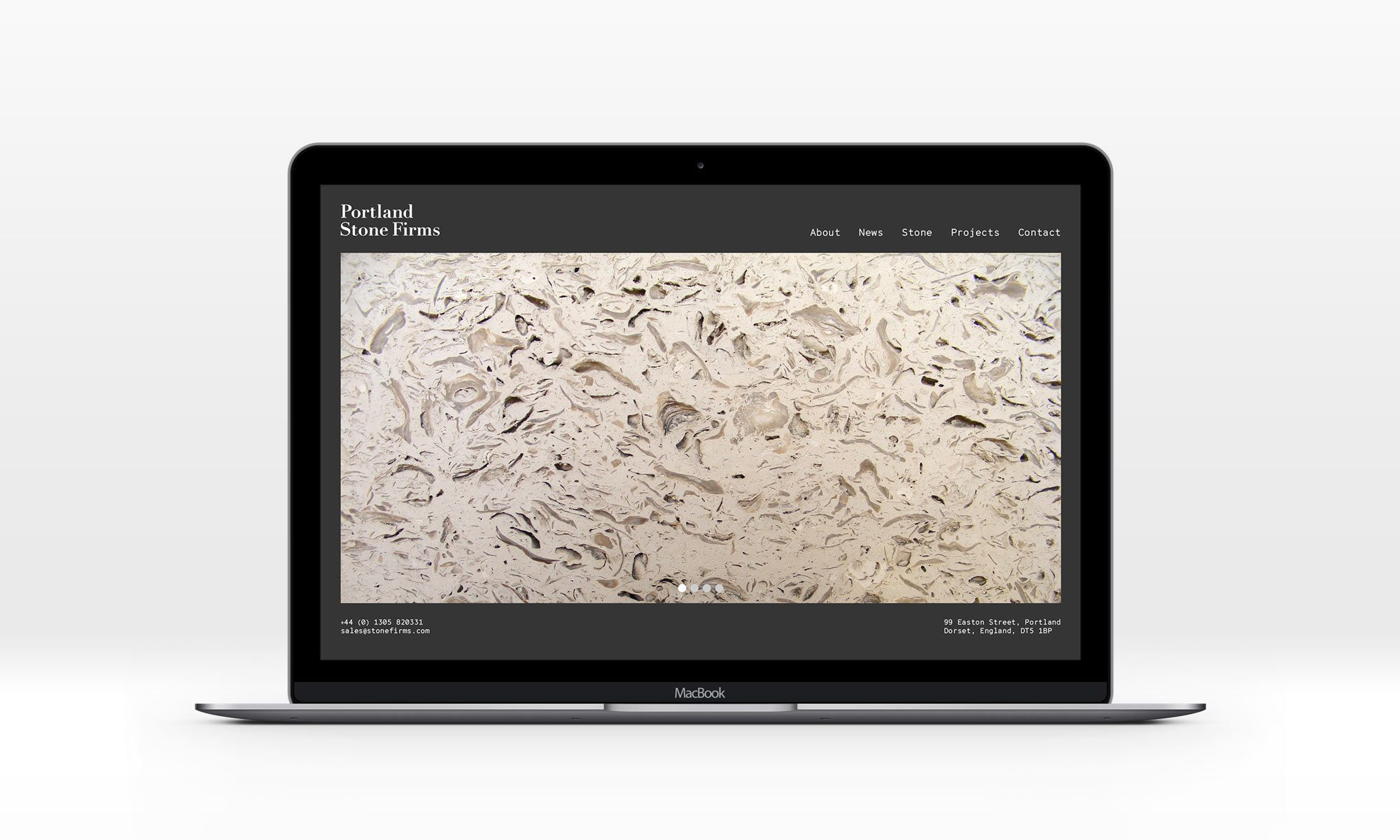 Portland Stone Firms website