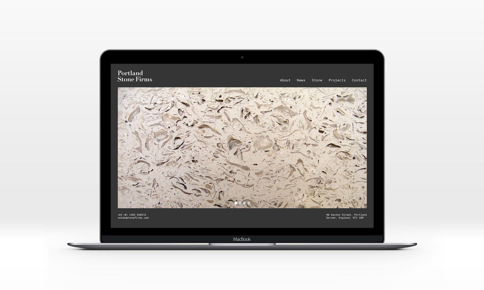 Portland Stone Firms website