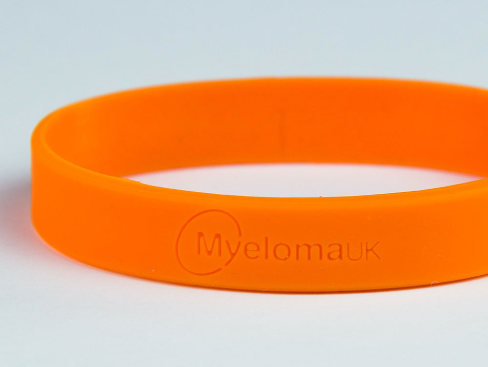 Myeloma UK wristband