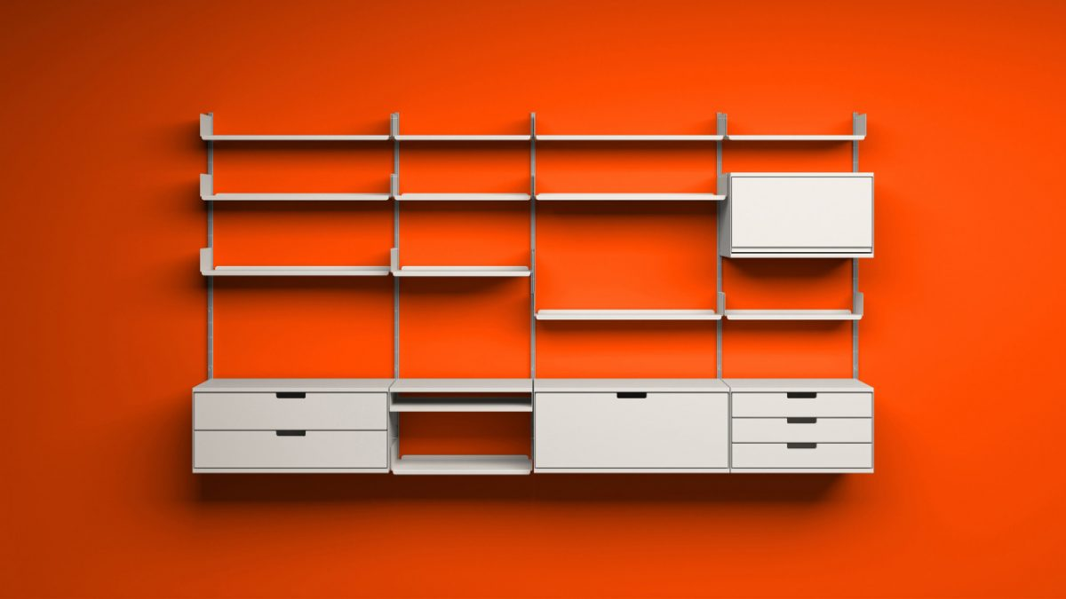 Dieter Rams Vitsoe shelves