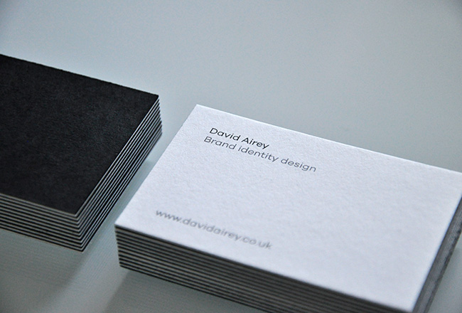 David Airey business card