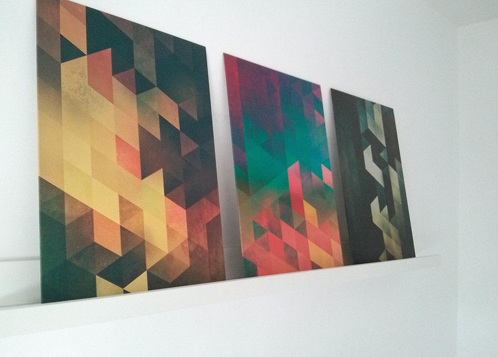 Displate tessellation art