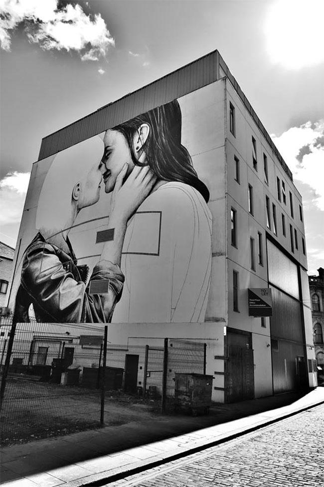 Love Wins mural Belfast