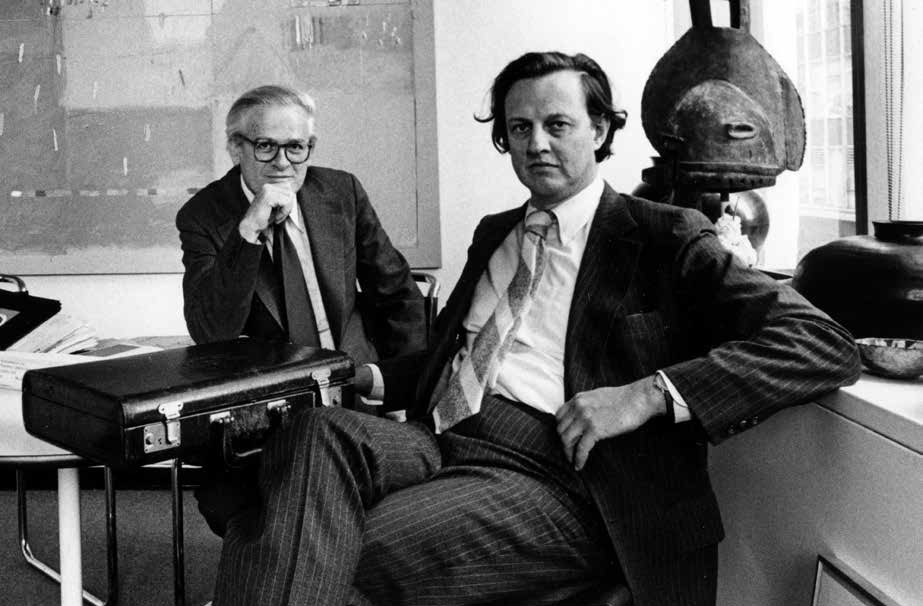 Tom Geismar and Ivan Chermayeff