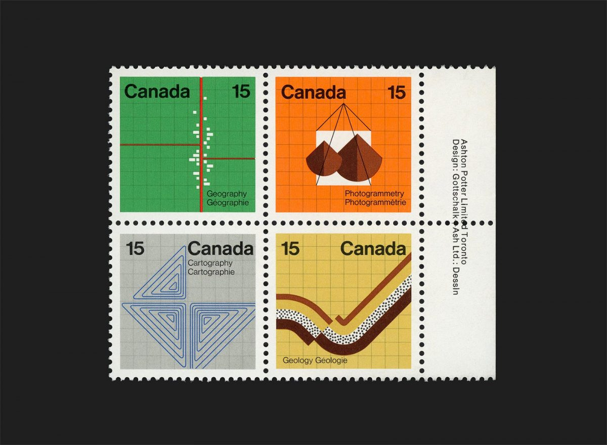 Earth Sciences Stamps 1972