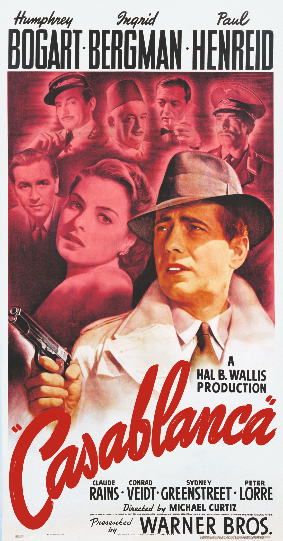 Casablanca poster Bill Gold