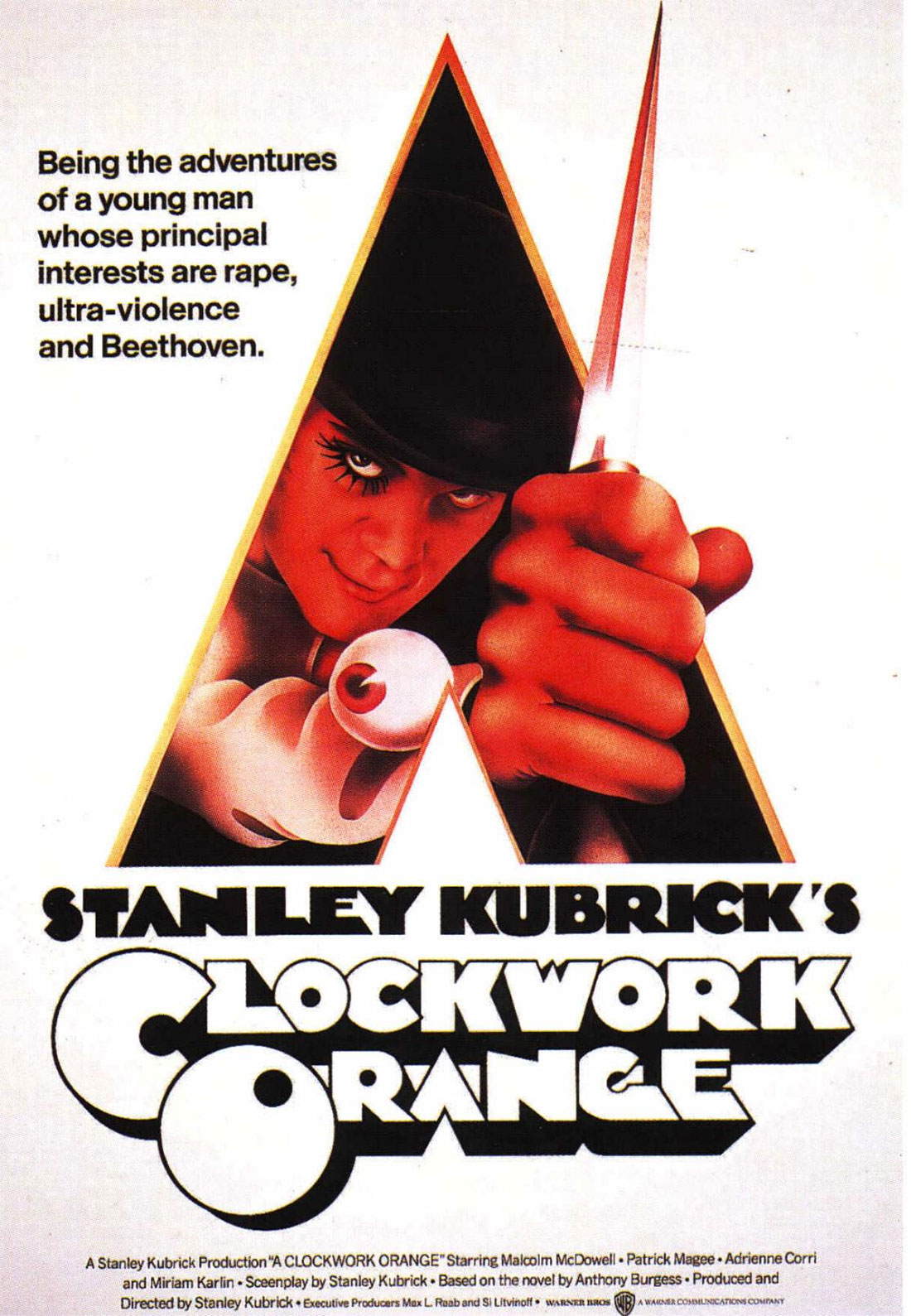 A Clockwork Orange poster Bill Gold