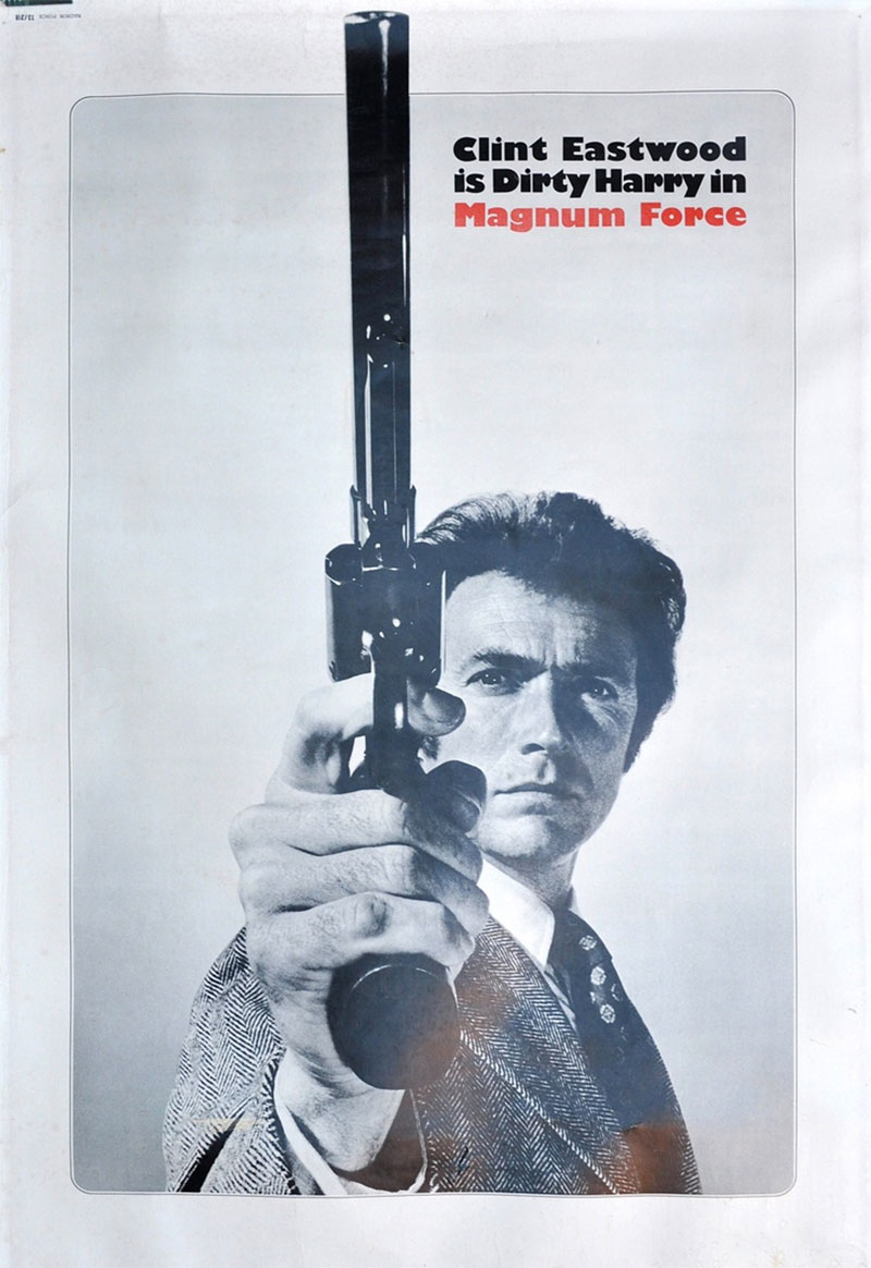 Dirty Harry poster Bill Gold