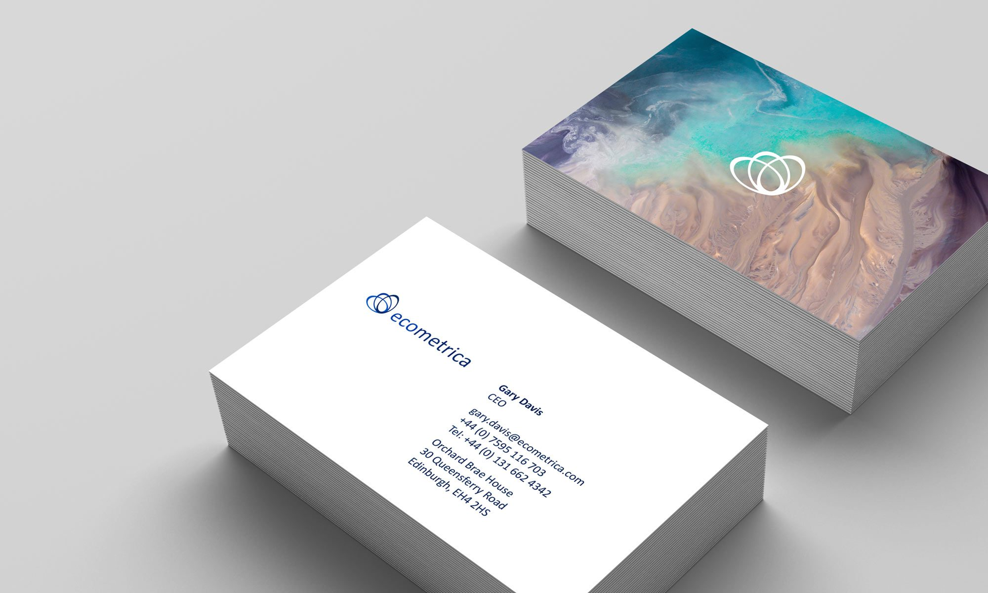 Ecometrica business card