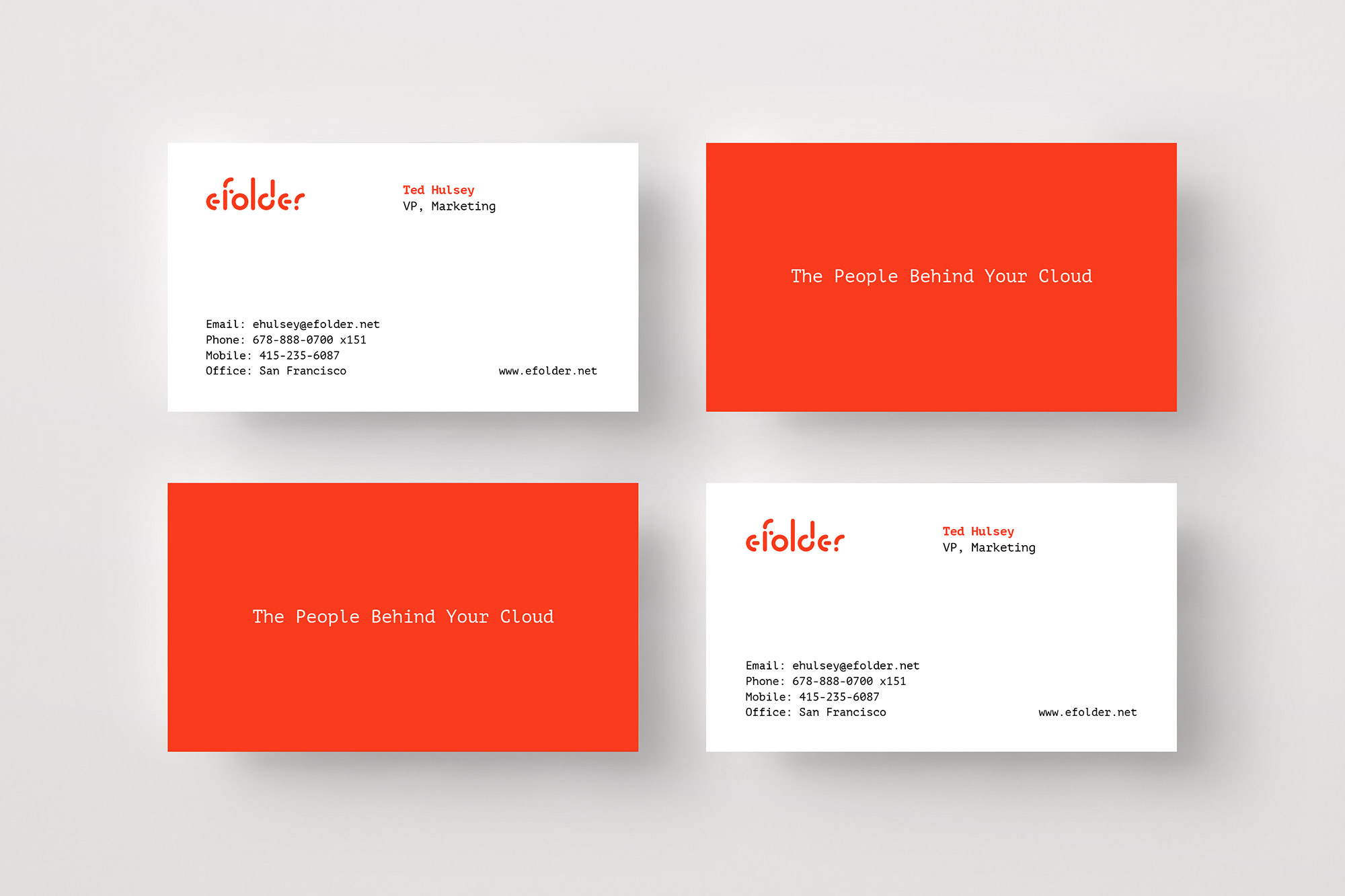 eFolder business card