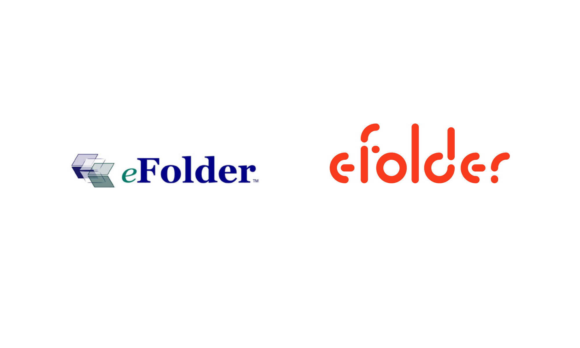 eFolder logo old new
