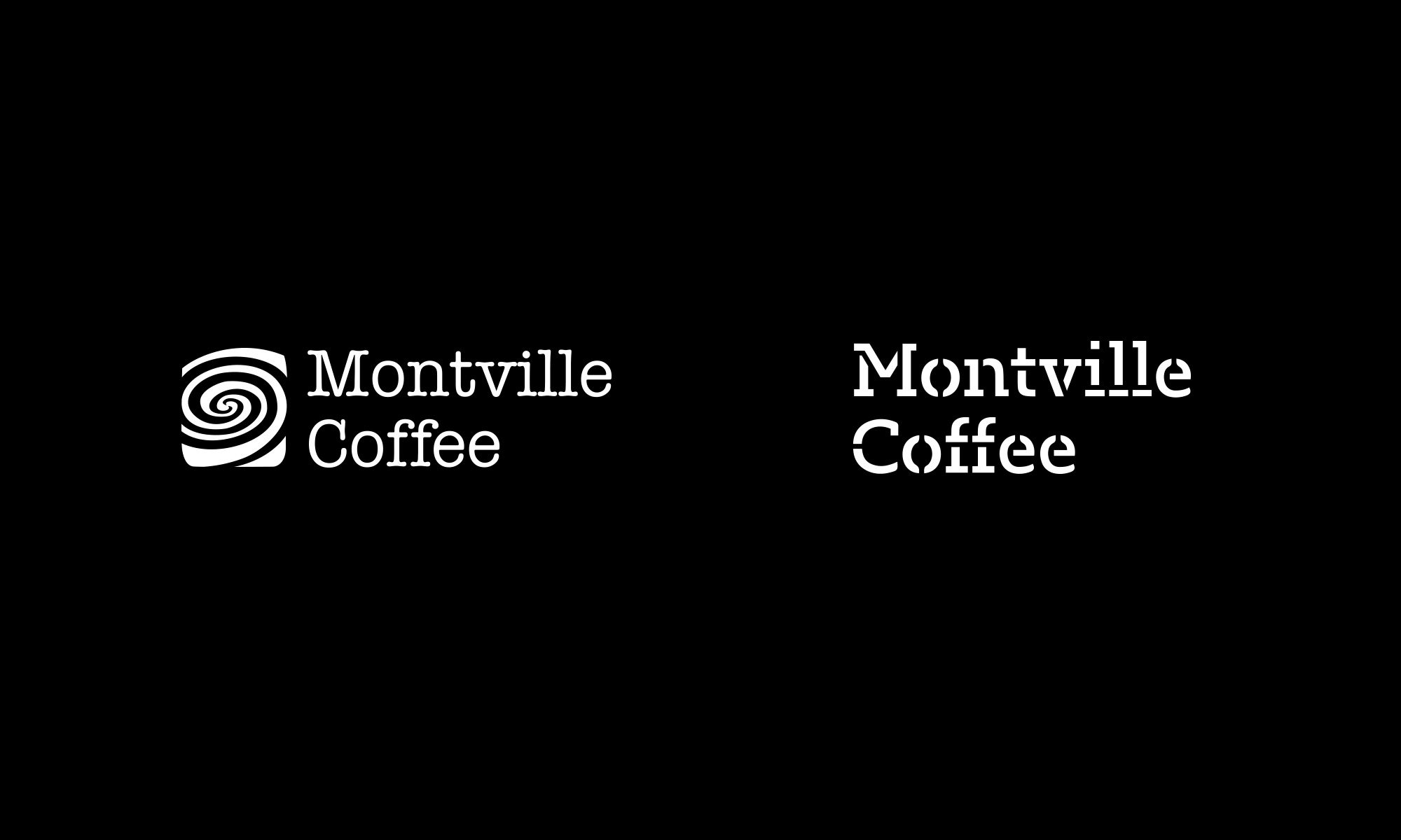 Montville Coffee logo evolution