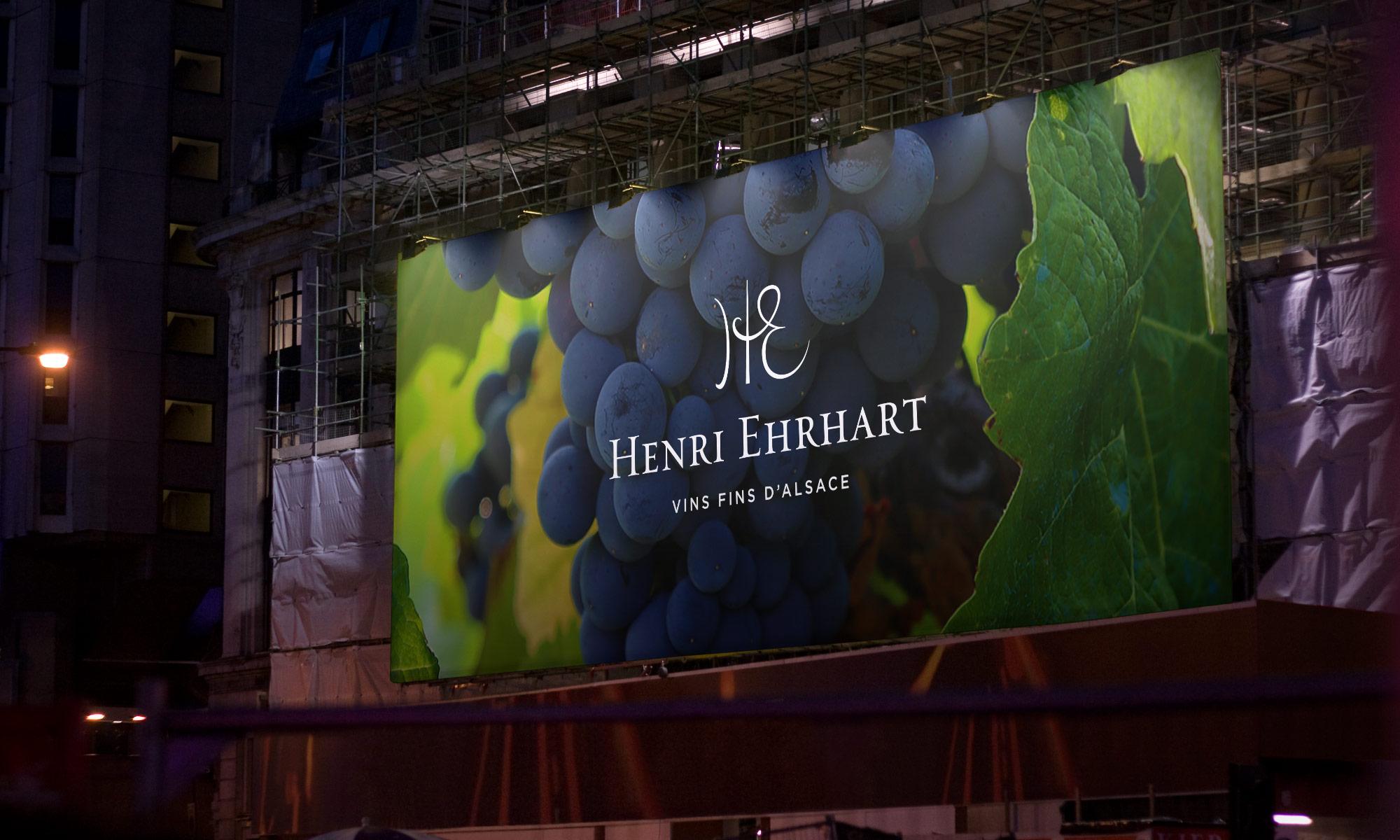 Henri Ehrhart billboard ad