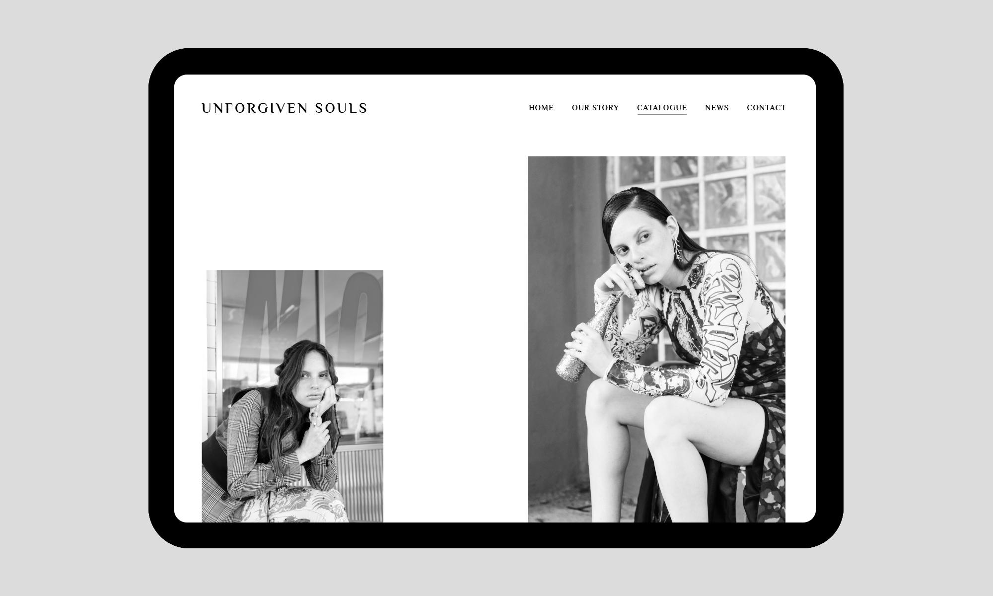 Unforgiven Souls website