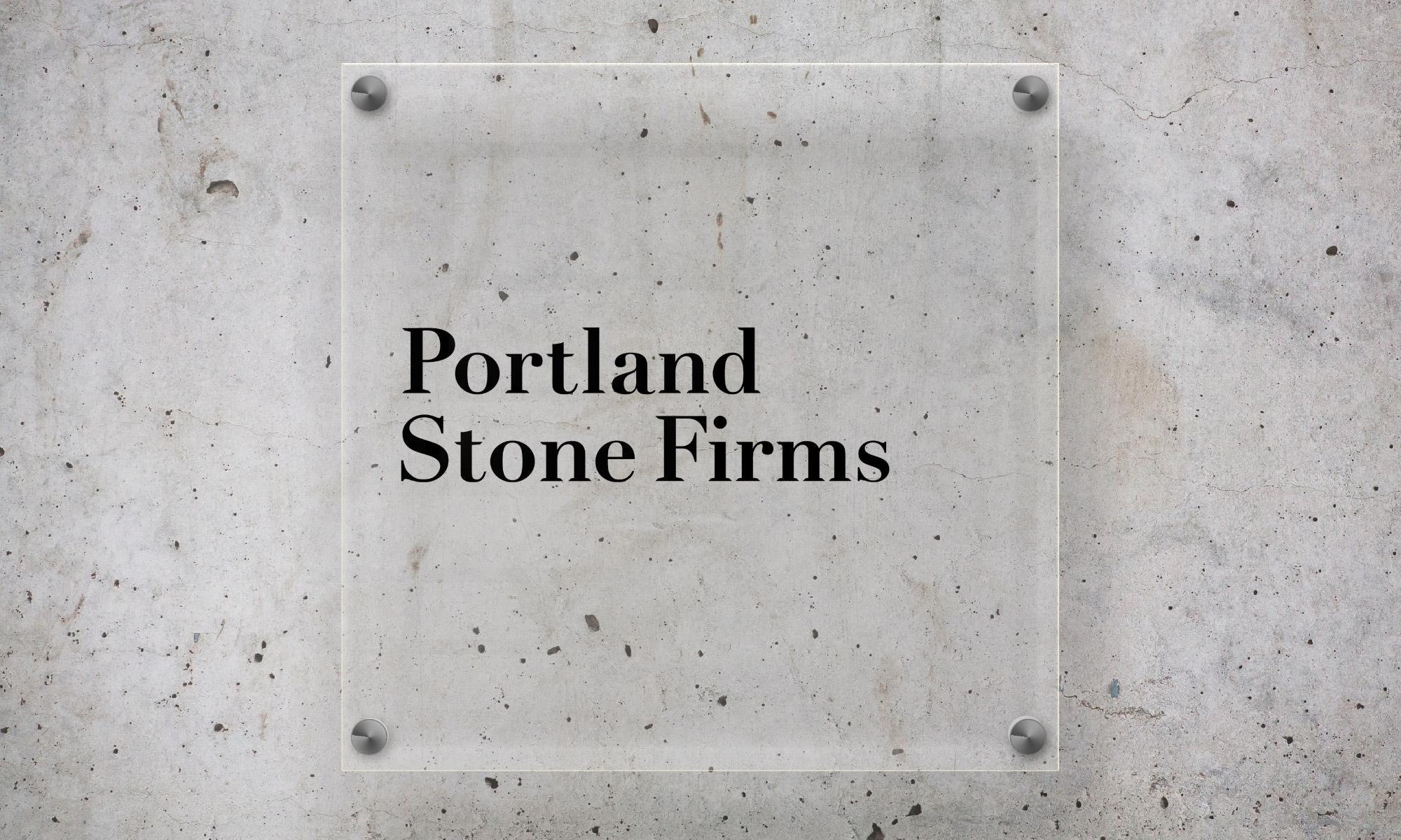 Portland Stone signage