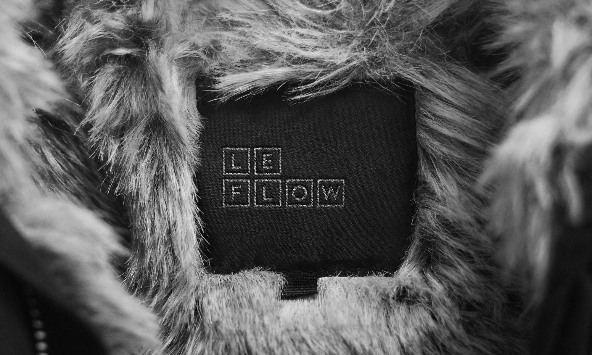Le Flow coat label