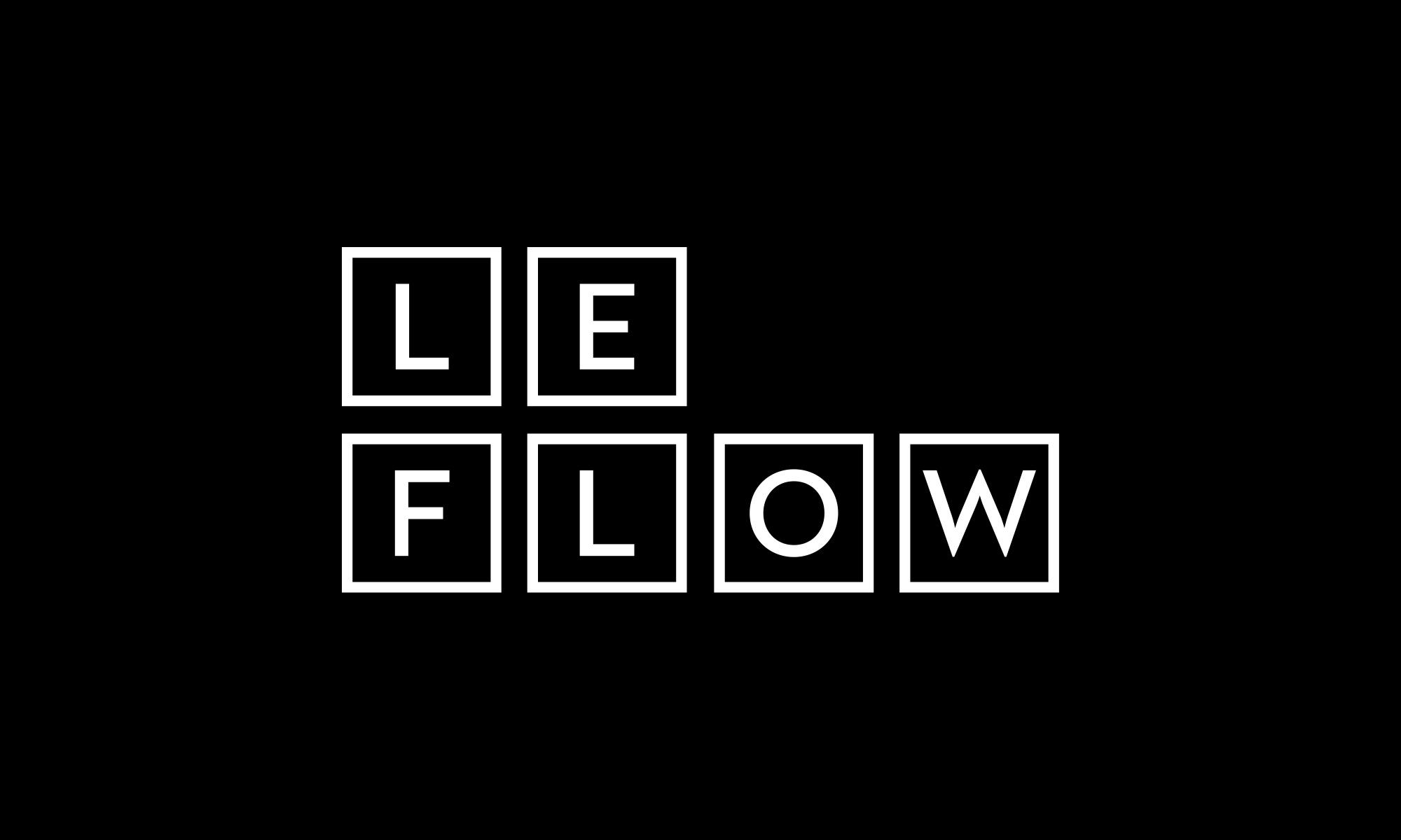 Le Flow wordmark